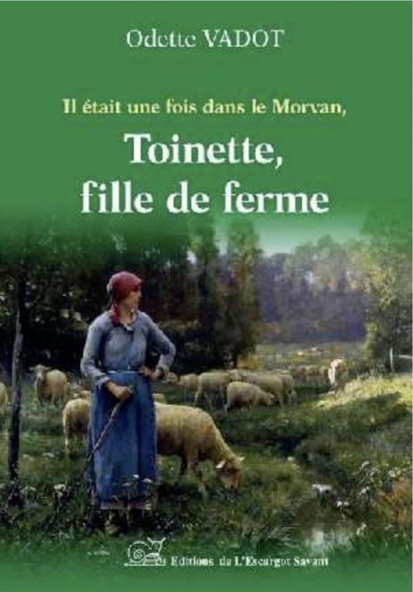livre Toinette, fille de ferme